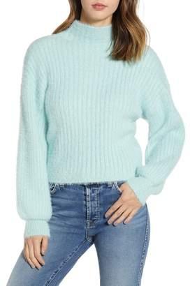 Prima Ribbed Mock Neck Sweater