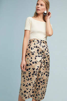 Hutch Twisted Leopard Skirt