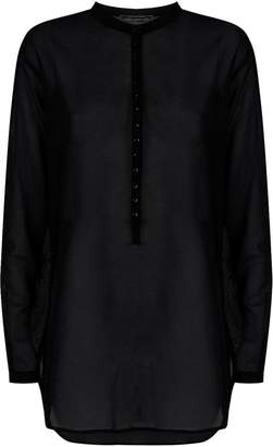 Saint Laurent Longline Kaftan Shirt