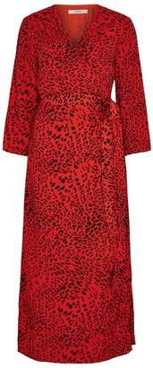 Gestuz Loui Leopard-print Wrap Dress