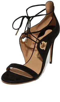Salvatore Ferragamo Fandila Sandals $875 thestylecure.com