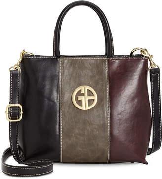 Giani Bernini Tricolor Glazed Bucket Bag