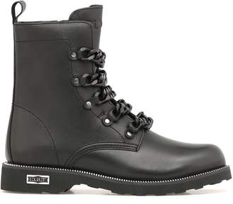 Cult Zeppelin Mid Army Boots