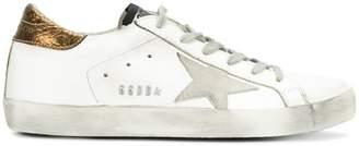 Golden Goose White Bronze Superstar sneakers