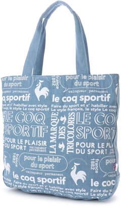 Le Coq Sportif (ル コック スポルティフ) - ルコックスポルティフ le coq sportif ルコックプリント帆布トート