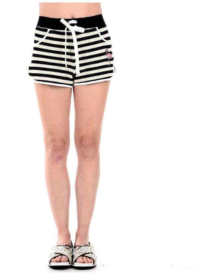 RED ValentinoRed Valentino Striped Shorts