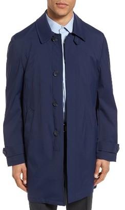 Men's Monte Rosso Cotton Blend Raincoat $599 thestylecure.com