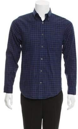 Jack Spade Woven Plaid Button-Up Shirt
