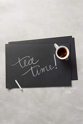Anthropologie Chalkboard Placemats