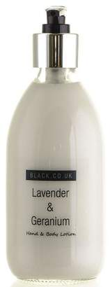 Black Lavender and Geranium Hand and Body Lotion