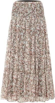 Lauren Ralph Lauren Moriah pink ruffle skirt