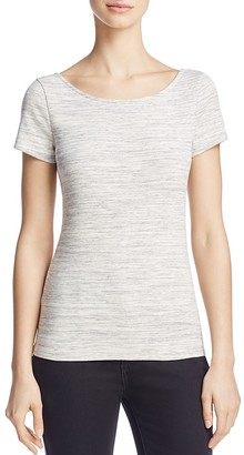 Theory Yorisa Scoop-Back Tee $85 thestylecure.com