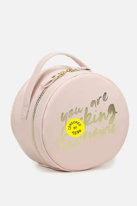 Cotton On Round Cosmetic Case