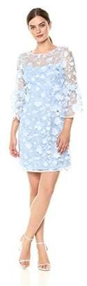 Jax Women's Illusion Floral Sheath Dress