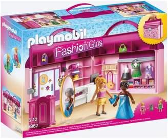 Playmobil Fashion Girls Take Along Boutique 6862