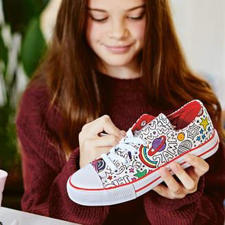 Jex Shoes Comic Pattern Colour In Children's Shoes