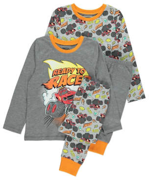 Blaze George and the Monster Machines Pyjamas 2 Pack