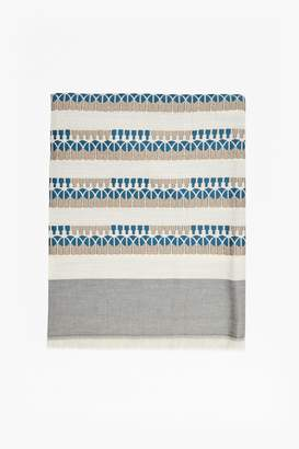 French Connection Rhea Patterned Scarf