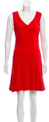 Diane von Furstenberg Sleeveless Ruffled Dress