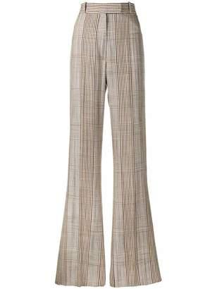 Golden Goose long plaid trousers