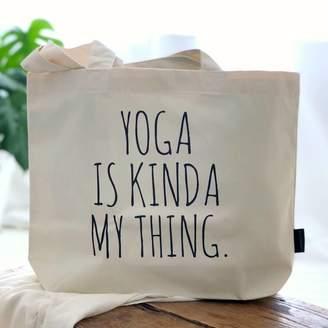 4b7886b9fce764 Kelly Connor Designs 'Yoga Is Kinda My Thing' ...