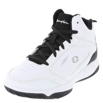 f16411db2 Champion White Black Boys  Contender Basketball Shoe 6 Regular