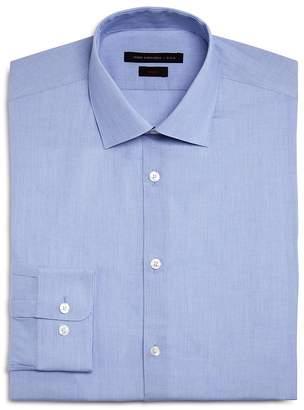 John Varvatos Basic Micro Stripe Slim Fit Dress Shirt