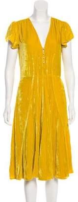 Altuzarra Velvet Midi Dress w/ Tags