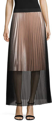 PROJECT RUNWAY Project Runway Season Finale Winner Tulle Pleated Maxi Skirt