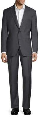 Saks Fifth Avenue Textured Wool Suit