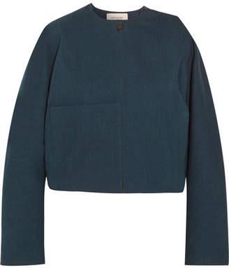 Lemaire Oversized Cropped Denim Jacket - Indigo