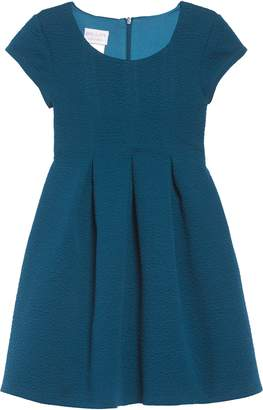 Iris & Ivy Textured Skater Dress