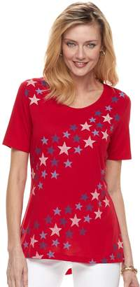 Women's Patriotic Swing Tee