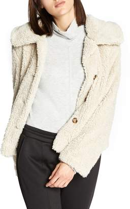 Sanctuary I Feel Luv Faux Fur Sherpa Jacket