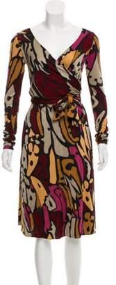 Issa Printed Midi Dress Black Printed Midi Dress