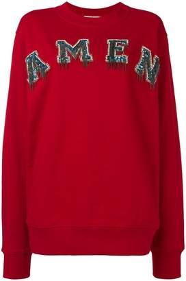Amen logo hoodie