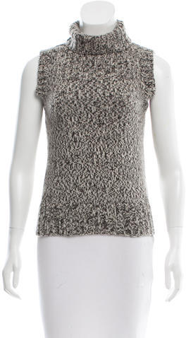 Chanel Chanel Cashmere Knit Top