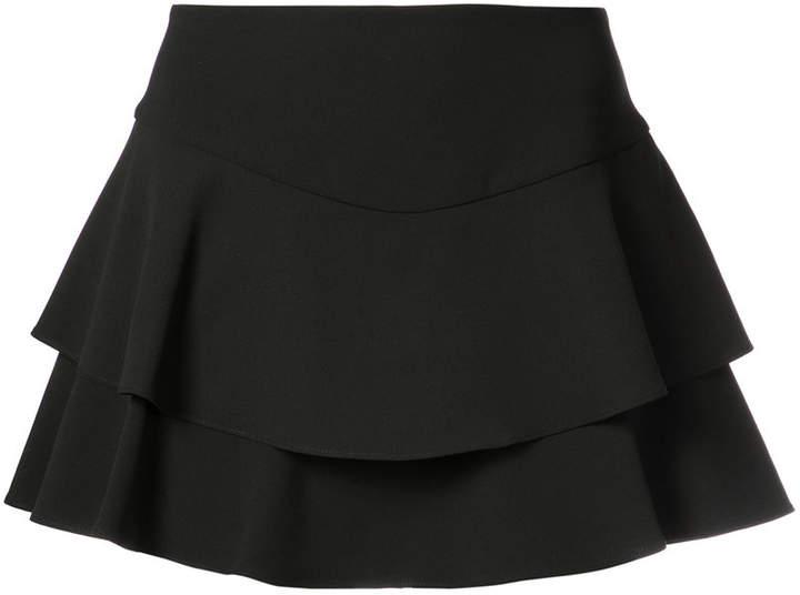 Alice+Olivia frill layered shorts