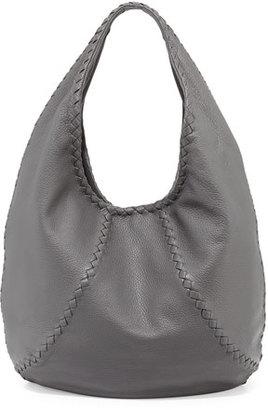 Bottega Veneta Cervo Large Hobo Bag, New Light Gray $1,780 thestylecure.com