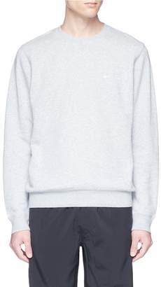 The Upside Logo embroidered sweatshirt