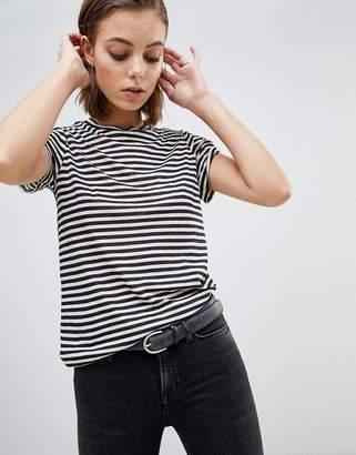 AllSaints Mono Striped T-Shirt