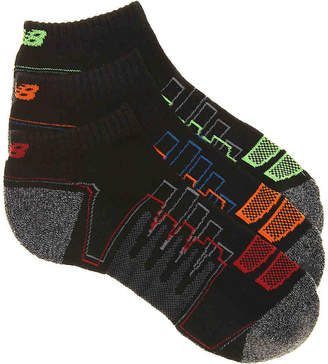 New Balance Zag Performance Low Ankle Socks- 3 Pack - Men's