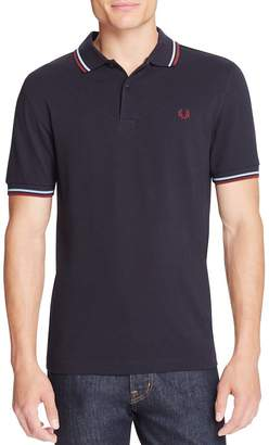 Fred Perry Twin-Tipped Slim Fit Polo Shirt