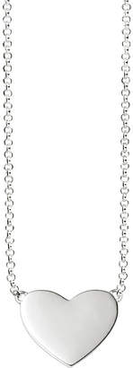 Thomas Sabo Sterling silver heart tag necklace
