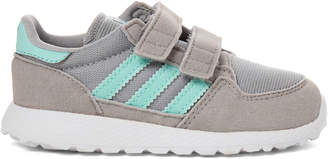 adidas Toddler Girls) Grey & Mint Forest Grove Low-Top Sneakers