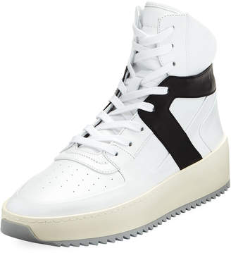 Fear Of God Men's Basketball Leather High-Top Sneakers