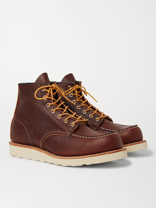 Red Wing Shoes 8138 Moc Leather Boots - Men - Brown