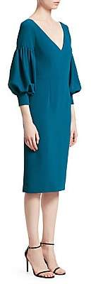 David Meister Women's Puff-Sleeve Sheath Dress