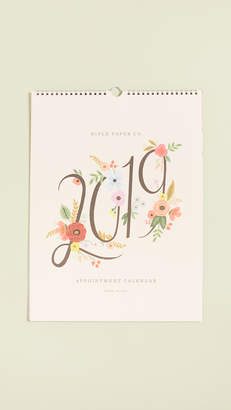Rifle Paper Co. 2019 Bouquet Appointment Calendar