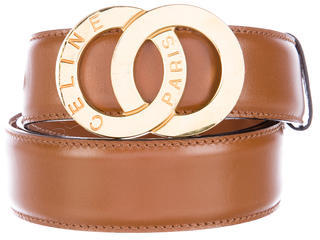 CelineCéline Leather Waist Belt